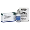 First Aid Only Eyewash Set w/Eyepads and Adhesive Strips