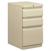 Mobile Pedestal File, Box/Box/File, 15 x 20 x 28, Putty