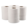 Jumbo Bathroom Tissue, 2-Ply, White, 12 Roll/Carton