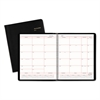 Monthly Planner in Business Week Format, 8 x 10, White, 2017