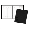Contemporary Monthly Planner, Premium Paper, 8 7/8 x 11, Graphite Cover, 2017