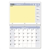 QuickNotes Desk/Wall Calendar, 11 x 8, 2017