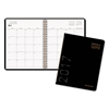 AT-A-GLANCE Contemporary Monthly Planner, 6 7/8 x 8 3/4, Black Cover, 2017