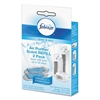 "Air Purifier Refill, Linen Scent, 3 1/4 x 3/4"" x 5 1/2"", 2/each"