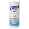 PURELL Hand Sanitizing Wipes, 5 7/10x7 1/2, Fresh Citrus Scent, 100/Canister, 4/Carton