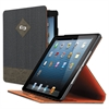 SOLO Hudson Slim Case for iPad Air, Gray/Tan