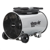 "Shop-Air Stainless Steel Portable Blower, 11"", 3-Speed, 1/4 HP Motor"