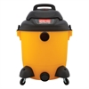 Economical Wet/Dry Vacuum, 12gal Capacity, 23lb, Black/Yellow