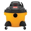 Right Stuff Wet/Dry Vacuum, 8 Amps, 19lbs, Yellow/Black