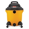 Shop-Vac Industrial Wet/Dry Vacuum, 12gal, 2.5hp, Yellow/Black