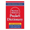 Merriam Webster Pocket Dictionary, Paperback, 416 Pages
