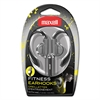 Maxell EH-131 Earhooks with Microphone, Silver
