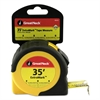 "ExtraMark Tape Measure, 1"" x 35ft, Steel, Yellow/Black"