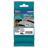"Brother P-Touch TZe Flexible Tape Cartridge for P-Touch Labelers 3/4"" x 26-1/5 ft Black on White"