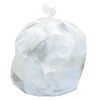 Medium Can Liners, 33gal, 12mic, 33 x 40, Natural, 25 Bags/Roll, 20 Rolls/Carton