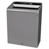 Configure Indoor Recycling Waste Receptacle, 45 gal, Gray, Landfill