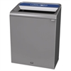 Configure Indoor Recycling Waste Receptacle, 45 gal, Gray, Mixed Recycling