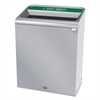 Configure Indoor Recycling Waste Receptacle, 45 gal, Stainless, Organic Waste