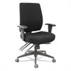 "Alera Alera Wrigley 24/7 High Performance Multifunction Chair, 42 7/8""h, Black"