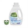 Natural 2X Concentrate Liquid Laundry Detergent, Free&Clear, 33 loads,50oz,6/Ctn