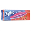 Ziploc Double Zipper Storage Bags, 10-9/16 x 10-3/4, 1 Gal, 1.75 Mil, Clear, 38/Box