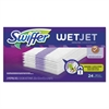 "Swiffer WetJet System Refill Cloths, 11.3"" x 5.4"", White, 24/Box"