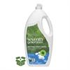 Seventh Generation Natural Dishwashing Liquid, Free & Clear, Jumbo 50 oz Bottle, 6/Carton