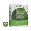 Seventh Generation 100% Recycled Bathroom Tissue, Two-Ply, White, 500 Sheets/Roll, 24/PK, 2 PK/CT