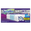 "WetJet System Refill Pads, 11.3"" x 5.4"", Extra Power, White, 14/Box"