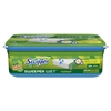 Swiffer Wet Refill Cloths, Gain Original Scent, White, 8 x 10, 24/Pack, 6 Pack/Carton