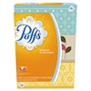 Puffs White Facial Tissue, 2-Ply, 8.2 x 8.4, 180/Box, 3 Box/Pack