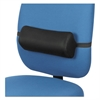 Lumbar Backrest, 14 3/8 x 4 3/4 x 6 1/4, Black