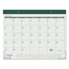 AT-A-GLANCE Fashion Color Desk Pad, 22 x 17, Green, 2017