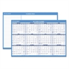 AT-A-GLANCE Horizontal Erasable Wall Planner, 36 x 24, Blue/White, 2017