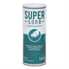 Super-Sorb Liquid Spill Absorbent, Powder, Lemon-Scent, 12 oz. Shaker Can, 6/Box