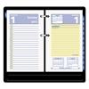 QuickNotes Desk Calendar Refill, 3 1/2 x 6, 2017