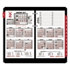 Burkhart's Day Counter Desk Calendar Refill, 4 1/2 x 7 3/8, White, 2017