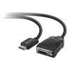 DisplayPort to DVI Adapter, 9 ft, Black