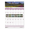 Recycled Gardens of the World Monthly Wall Calendar, 15 1/2 x 22, 2017