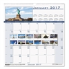 Recycled National Monuments Monthly Wall Calendar, 12 x 12, 2017