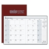 House of Doolittle 14-Month Academic Economy Planner, 7 x 10, Burgundy, 2016-2017