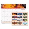 AT-A-GLANCE Mother Nature Recycled Monthly Desk Pad, 22 x 17, 2017