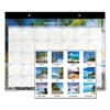 AT-A-GLANCE Tropical Escape Desk Pad, 22 x 17, 2017