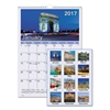 AT-A-GLANCE European Destinations Wall Calendar, 12 x 17, 2017