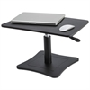 High Rise Adjustable Laptop Stand, 21 x 13 x 12 to 15 3/4, Black