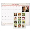 AT-A-GLANCE Kittens Recycled Monthly Desk Pad, 22 x 17, 2017