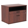 Alera Alera Open Office Series Low File Cab Cred, 29 1/2x19 1/8x22 7/8, Med. Cherry