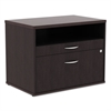 Alera Alera Open Office Series Low File Cab Cred, 29 1/2 x 19 1/8 x 22 7/8, Espresso