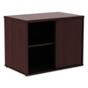 Alera Alera Open Office Low Storage Cab Cred, 29 1/2w x 19 1/8d x 22 7/8h, Mahogany