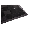 Guardian Parquet Wiper Scraper Mat, 24 x 36, Black
